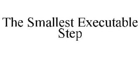 THE SMALLEST EXECUTABLE STEP