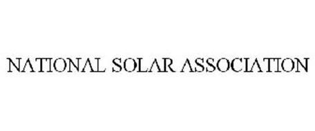 NATIONAL SOLAR ASSOCIATION