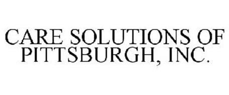 CARE SOLUTIONS OF PITTSBURGH, INC.