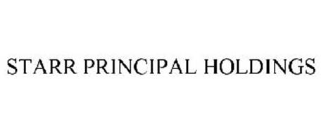 STARR PRINCIPAL HOLDINGS