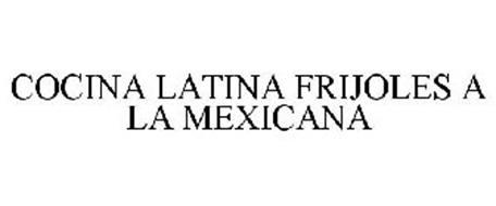 COCINA LATINA FRIJOLES A LA MEXICANA