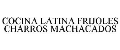 COCINA LATINA FRIJOLES CHARROS MACHACADOS