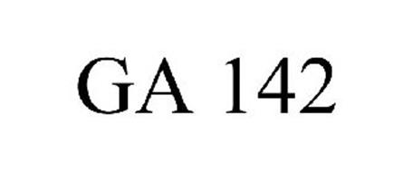 GA 142