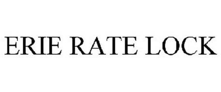 ERIE RATE LOCK