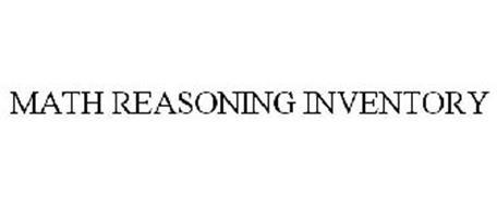 MATH REASONING INVENTORY