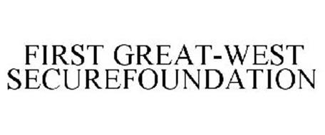FIRST GREAT-WEST SECUREFOUNDATION