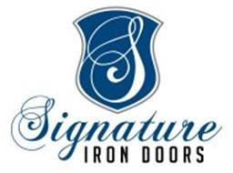 S SIGNATURE IRON DOORS