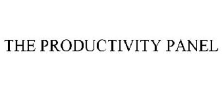 THE PRODUCTIVITY PANEL