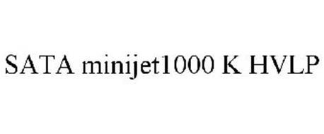 SATA MINIJET1000 K HVLP