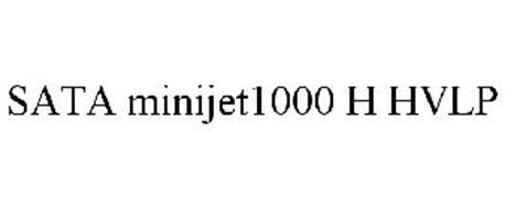 SATA MINIJET1000 H HVLP