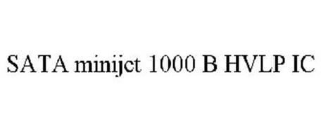 SATA MINIJET 1000 B HVLP IC