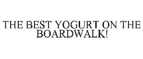 THE BEST YOGURT ON THE BOARDWALK!