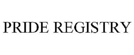 PRIDE REGISTRY