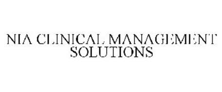 NIA CLINICAL MANAGEMENT SOLUTIONS