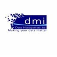 DMI DATA MANAGEMENT INC MAKING YOUR DATA MATTER