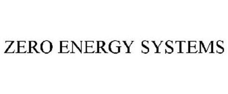 ZERO ENERGY SYSTEMS