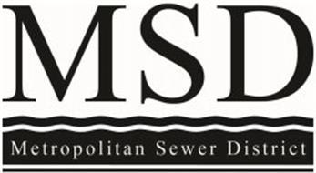 MSD METROPOLITAN SEWER DISTRICT