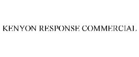 KENYON RESPONSE COMMERCIAL