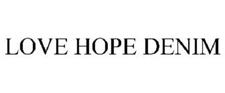 LOVE HOPE DENIM