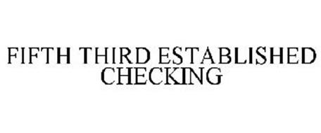FIFTH THIRD ESTABLISHED CHECKING