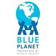 B L U E PLANET PROTECTED BY REPUBLIC SERVICES