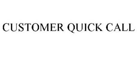CUSTOMER QUICK CALL