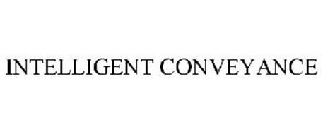 INTELLIGENT CONVEYANCE