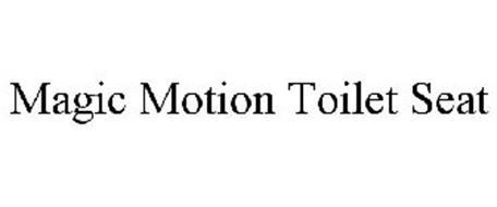 MAGIC MOTION TOILET SEAT