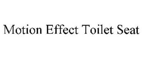 MOTION EFFECT TOILET SEAT
