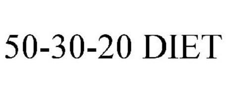 50-30-20 DIET