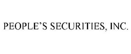 PEOPLE'S SECURITIES, INC.