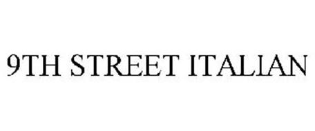 9TH STREET ITALIAN
