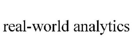 REAL-WORLD ANALYTICS