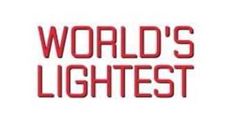 WORLD'S LIGHTEST