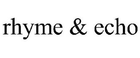 RHYME & ECHO