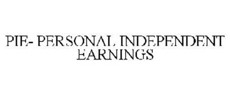 PERSONAL, INDEPENDENT EARNINGS
