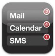 MAIL 2 CALENDAR 4 SMS 1