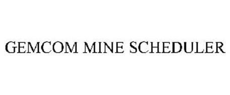 GEMCOM MINE SCHEDULER