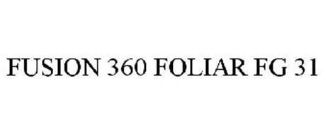 FUSION 360 FOLIAR FG 31