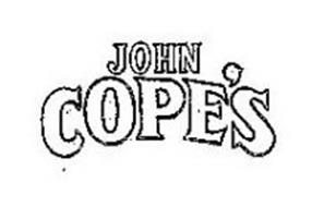 JOHN COPE'S