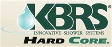 KBRS INNOVATIVE SHOWER SYSTEM HARD CORE