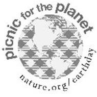 PICNIC FOR THE PLANET NATURE.ORG/EARTH DAY