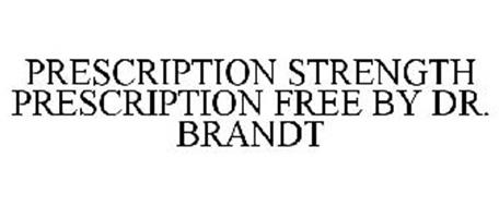 PRESCRIPTION STRENGTH PRESCRIPTION FREE BY DR. BRANDT