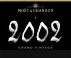 MOËT & CHANDON 2002 GRAND VINTAGE FONDE EN 1743