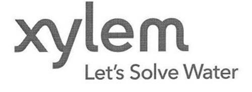 XYLEM LET'S SOLVE WATER