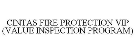 CINTAS FIRE PROTECTION VIP (VALUE INSPECTION PROGRAM)