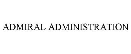 ADMIRAL ADMINISTRATION