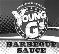 YOUNG G'S AMERICAN VETERAN BARBEQUE SAUCE