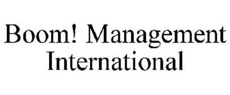 BOOM! MANAGEMENT INTERNATIONAL