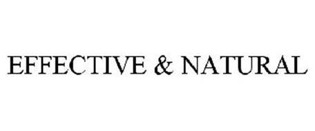 EFFECTIVE & NATURAL